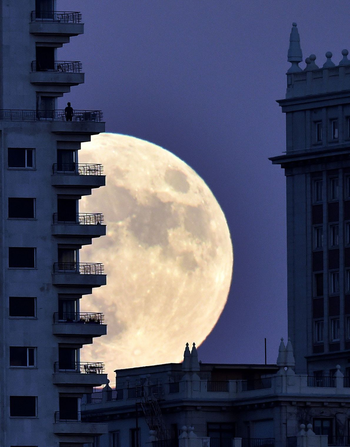 Superluna en Madrid