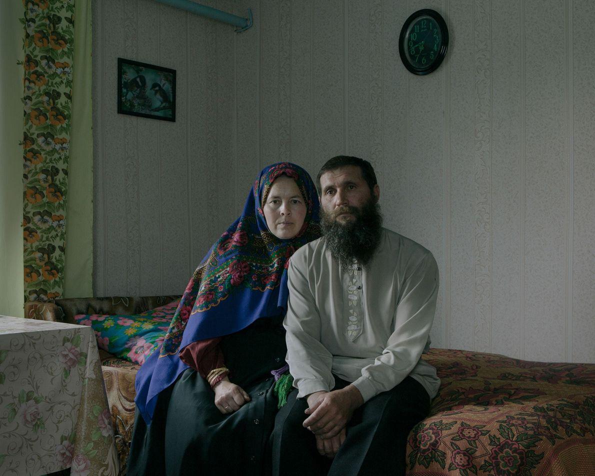 Antonina Borisova y Stepan Borisov