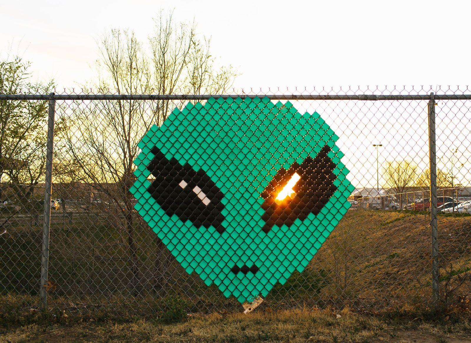Cara de un alien