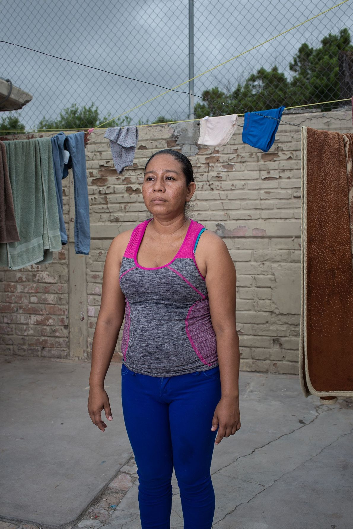 Sara Ramos tardó un mes en llegar a la frontera de Estados Unidos desde su casa, …
