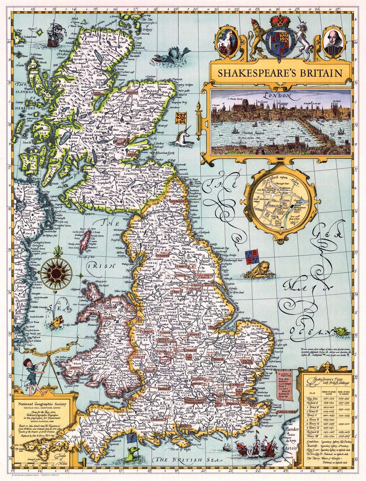La Gran Bretaña de Shakespeare, 1964