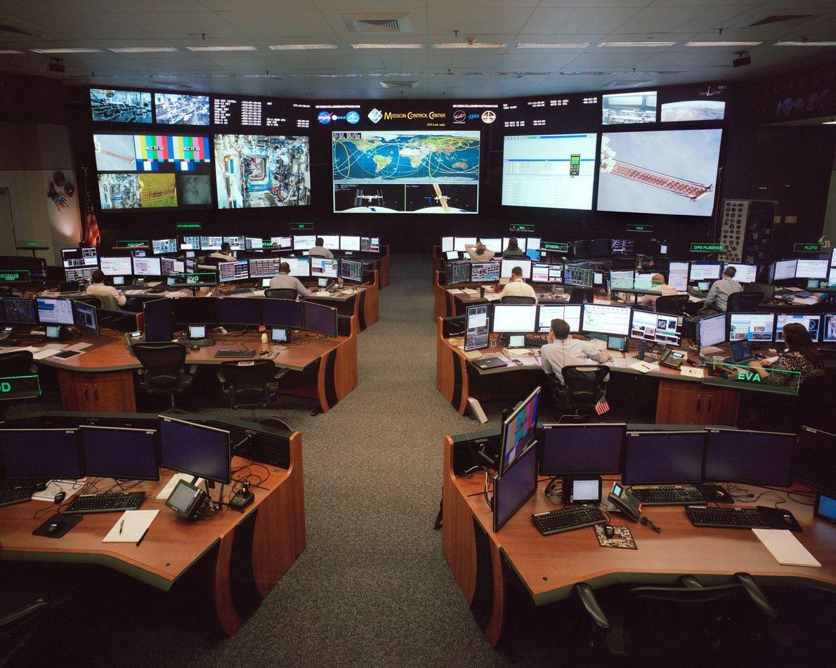 Centro de control de misión