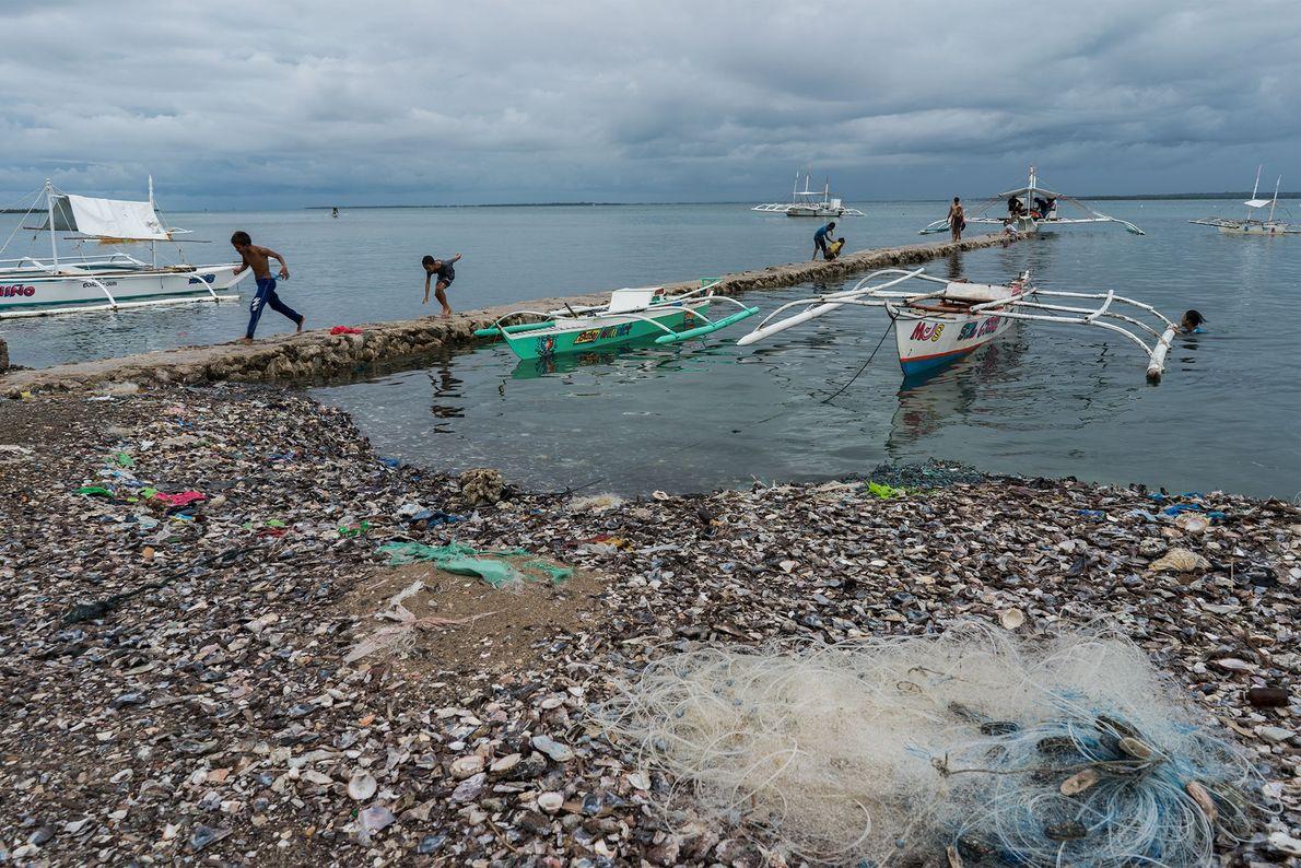 El plástico oceánico