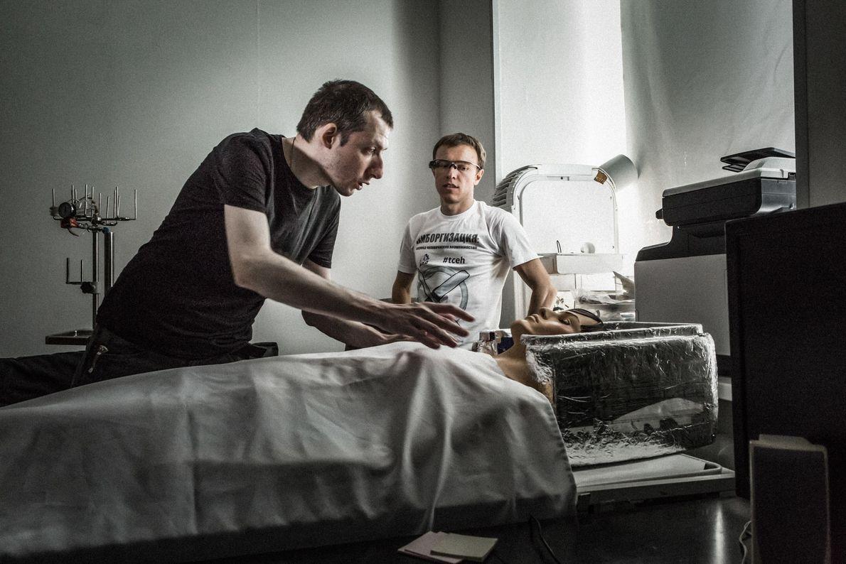 Alexey Samykin e Igor Trapeznikov