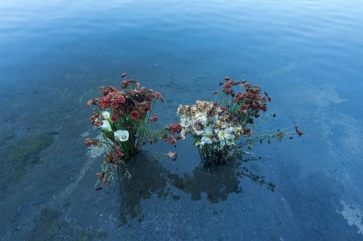 Flores de una ceremonia