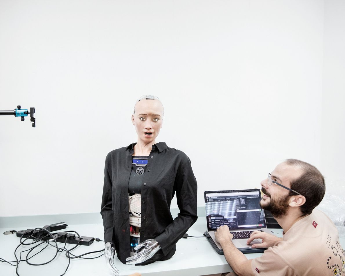 Ingeniero de sonido de Hanson Robotics