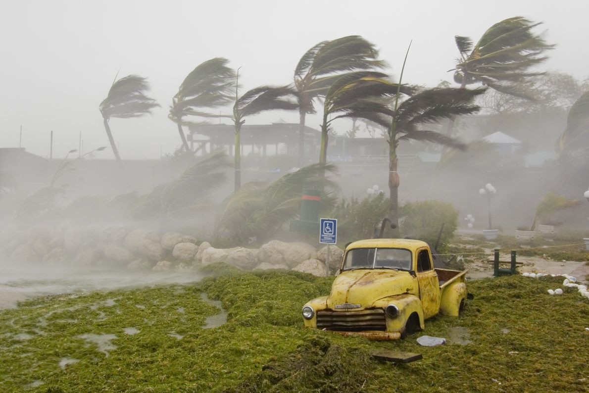 El huracán Dennis