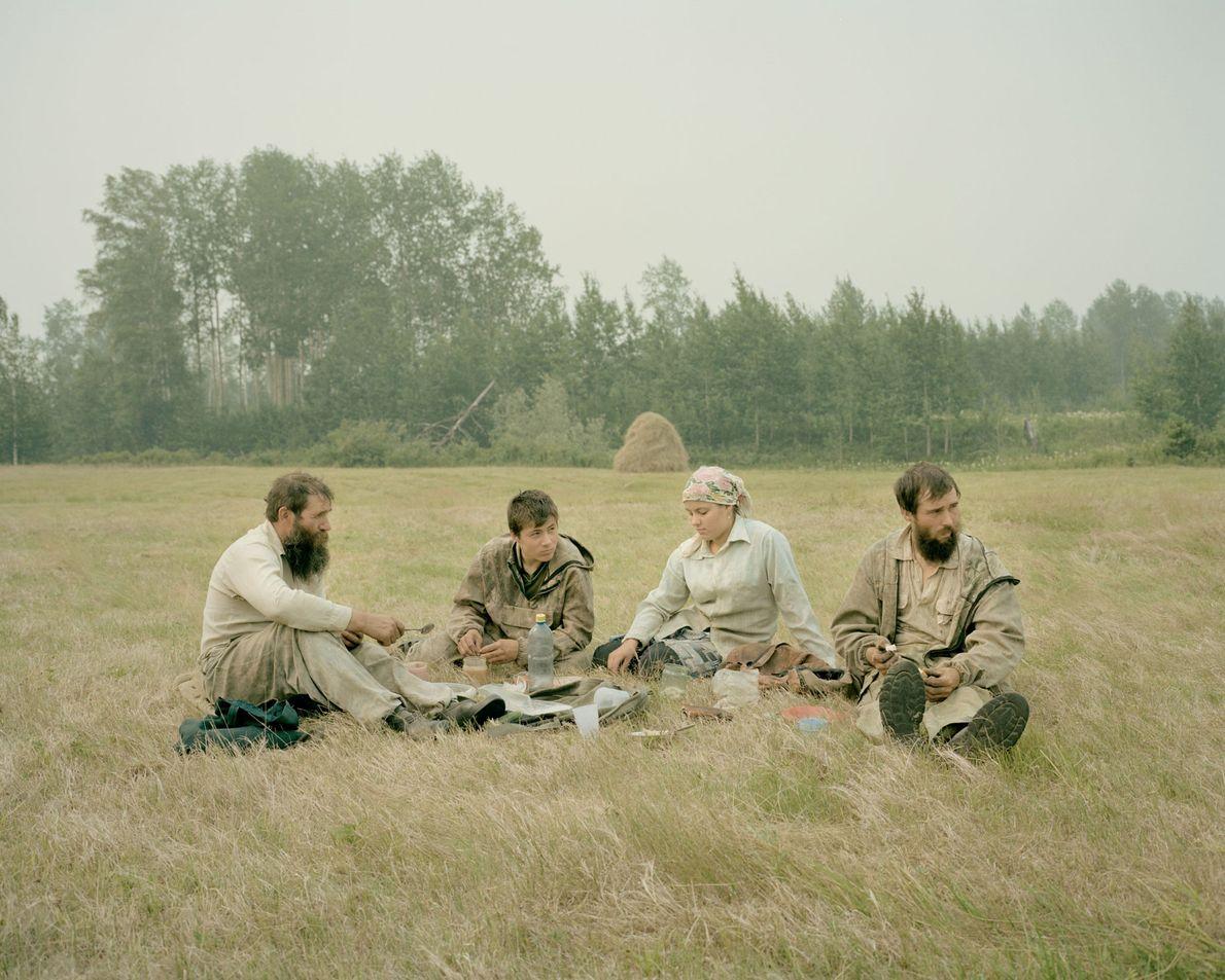 Borisov y sus hijos