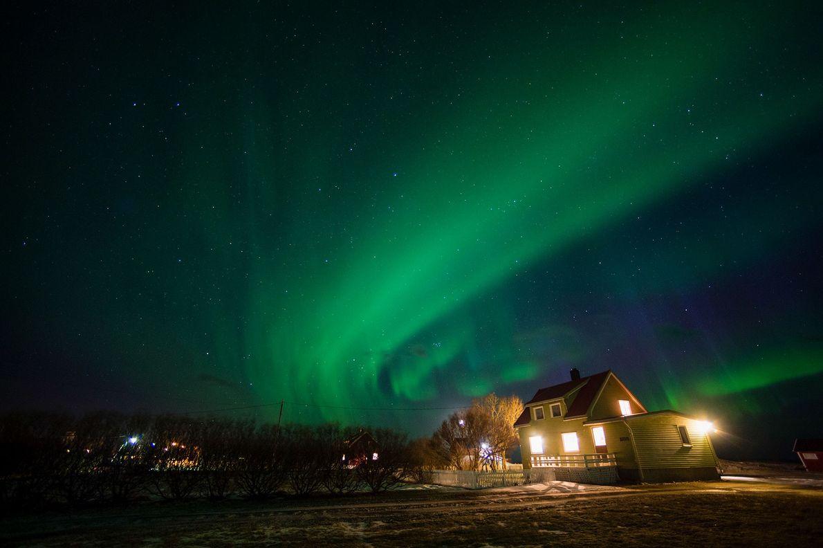 Aurora boreal en Nordland