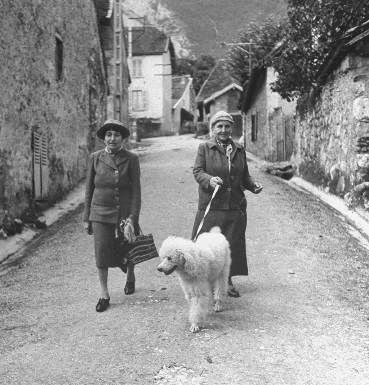 Gertrude Stein y Alice B. Toklas