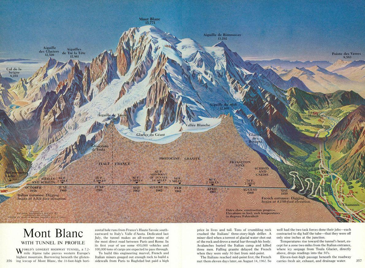 Mont Blanc, 1965