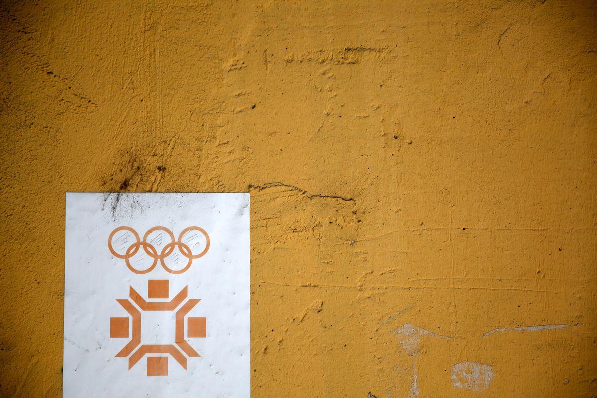 El logo de las Olimpiadas de Invierno