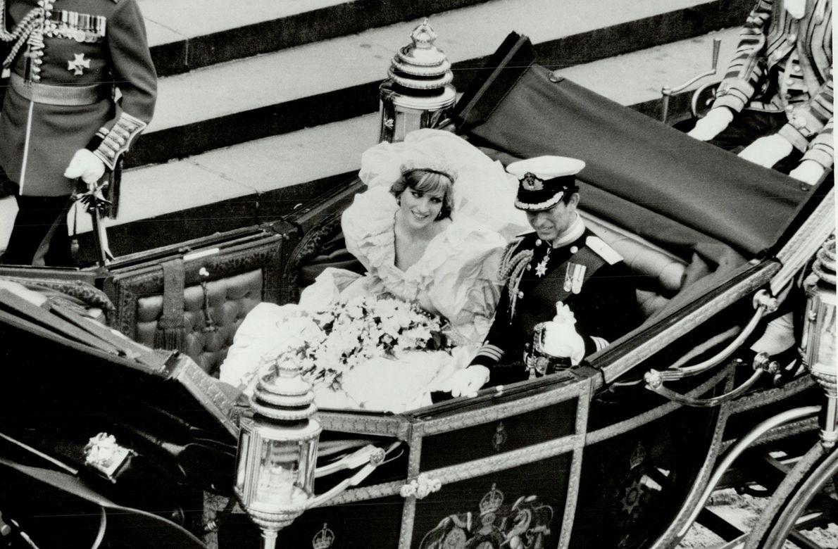 El príncipe Carlos y Lady Diana