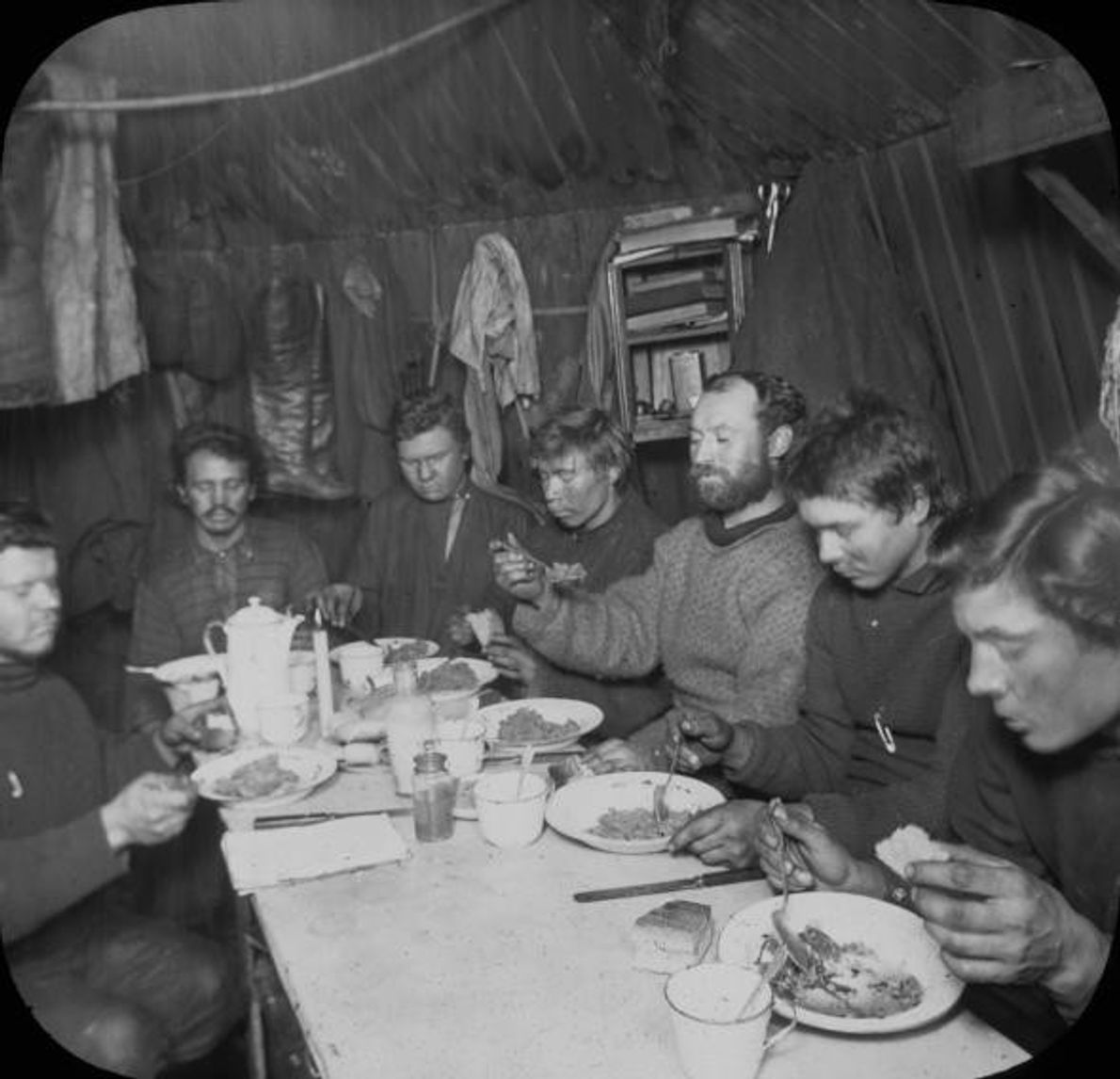 Los integrantes de la segunda expedición