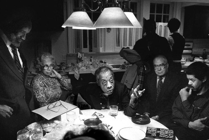 James Baldwin., Chicago, Illinois, 1984
