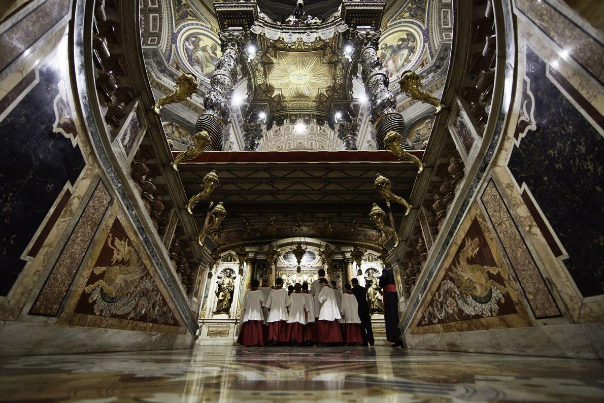 El sepulcro del primer Papa