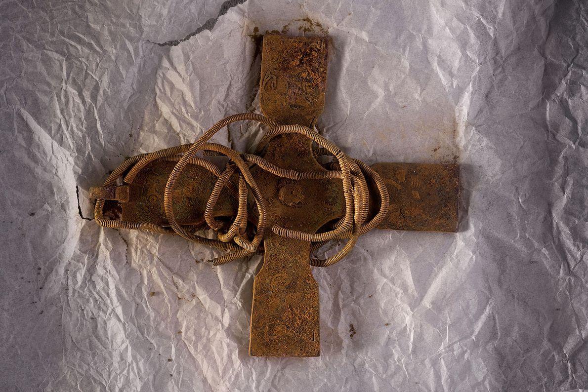 Imagen de una cruz ancestral