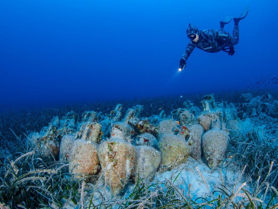 Sumérgete en el primer museo submarino de Grecia