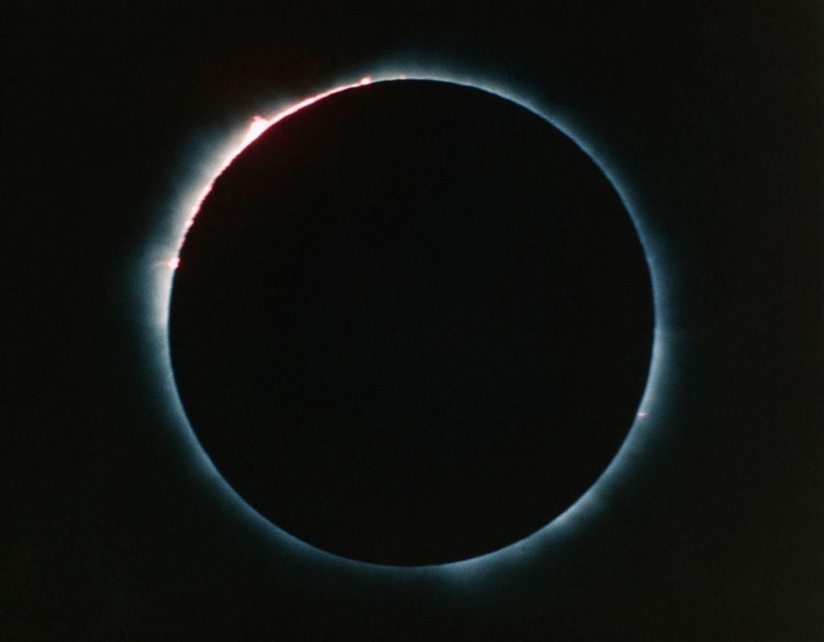Las protuberancias solares