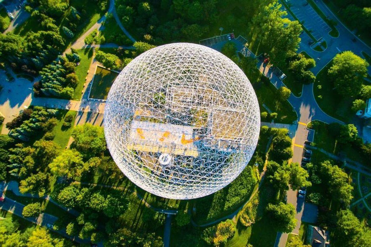 Biosphère de Montreal, Canadá
