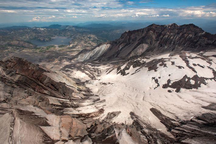 Glaciar del cráter