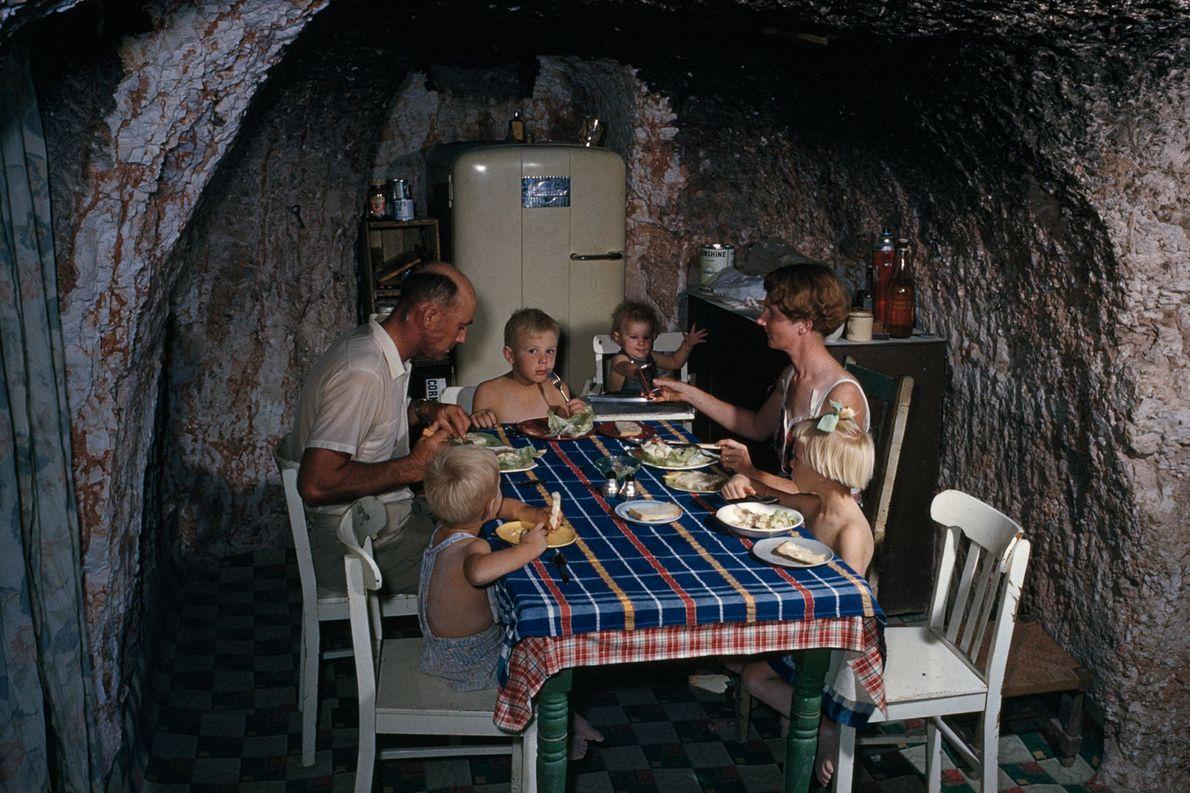 Fotografías de viviendas en cuevas
