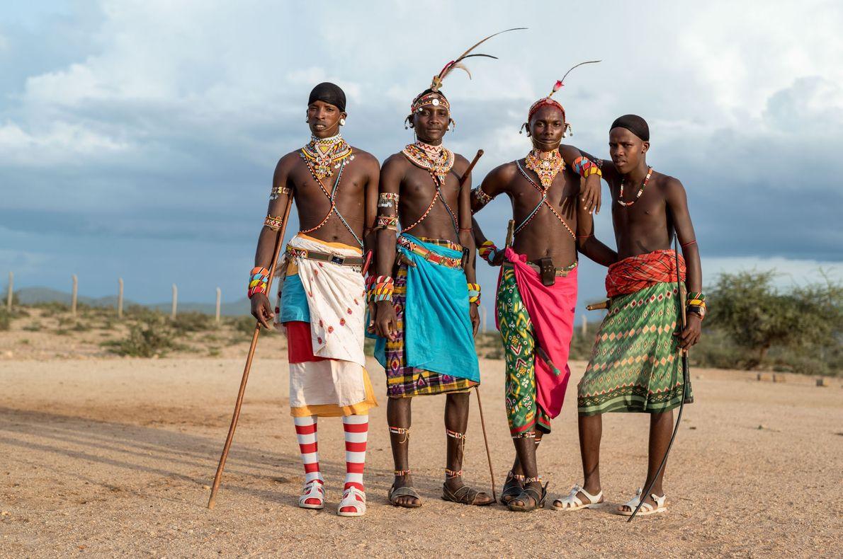 Los guerreros samburu