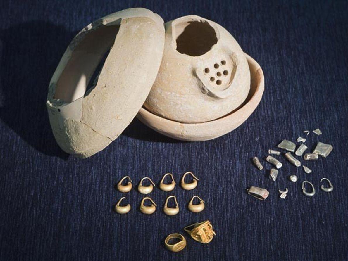 Fragmentos de cerámica