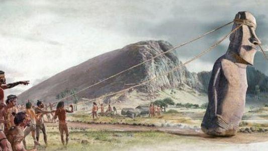 Los Moais de la Isla de Pascua se movieron sin ruedas ni carros
