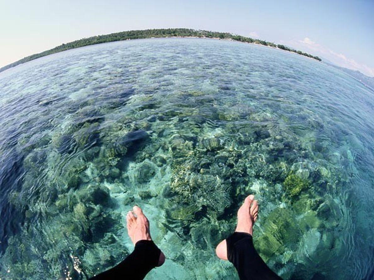 Arrecife desde lo alto