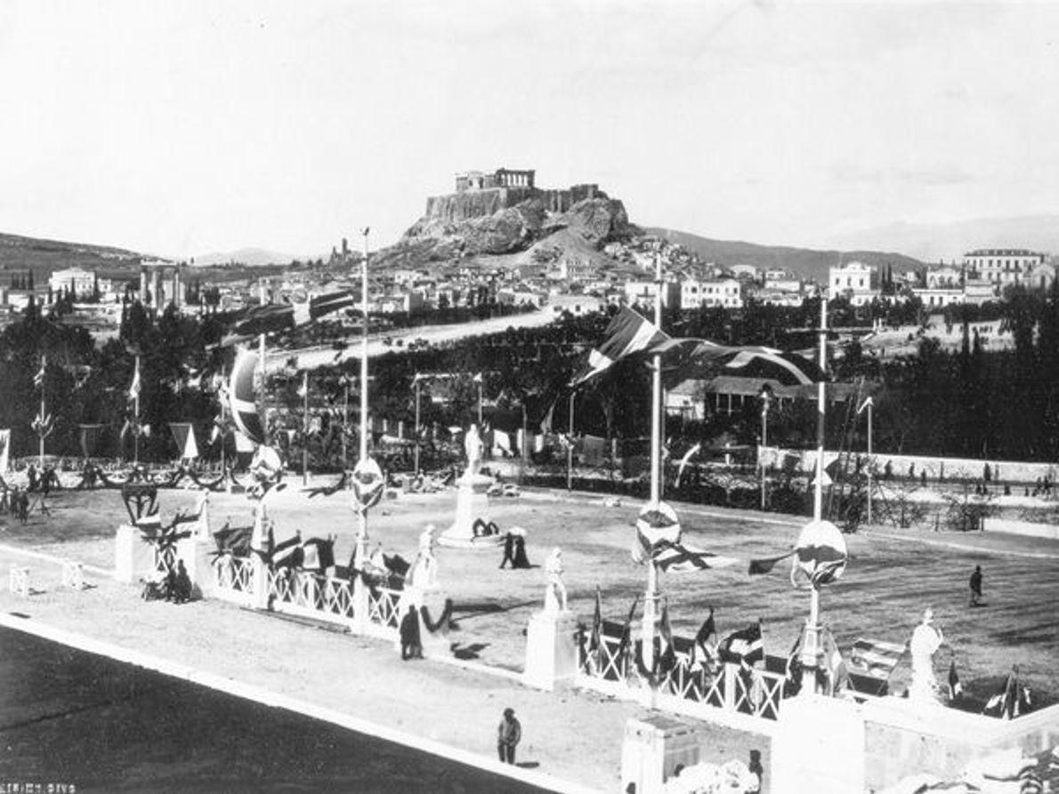 1896, Grecia