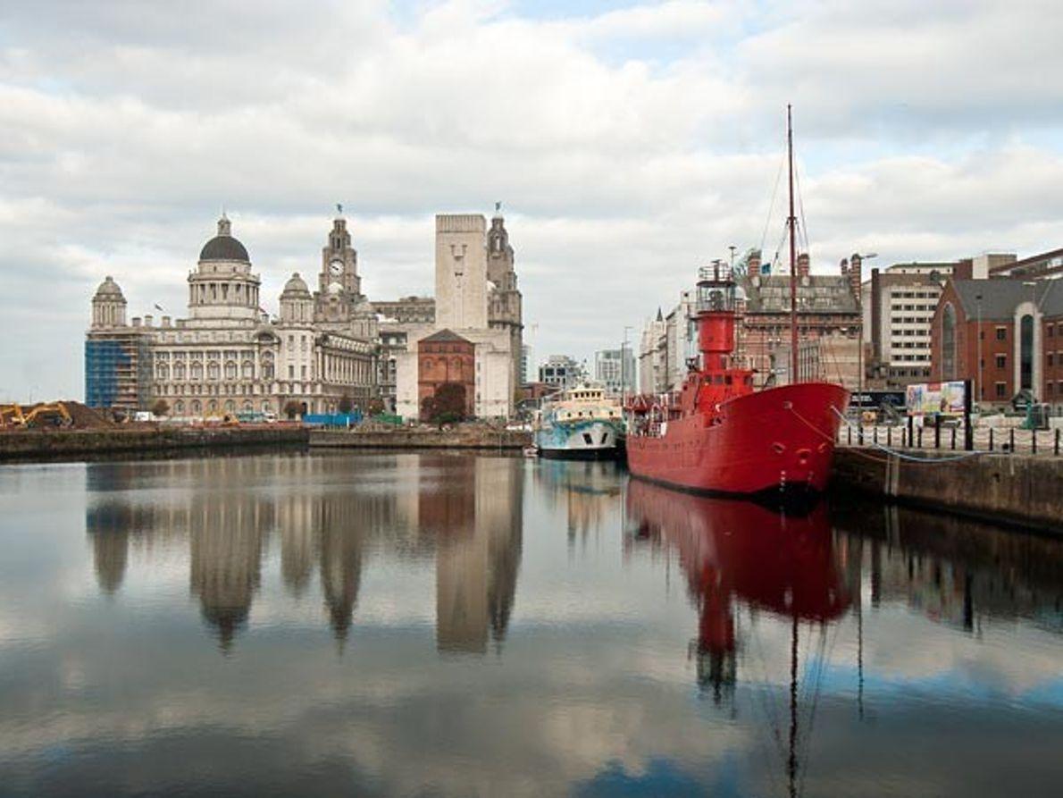 Puerto mercantil de Liverpool