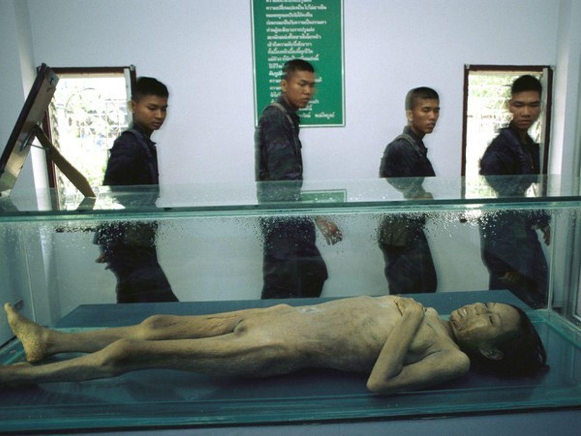 Víctima de SIDA tailandesa