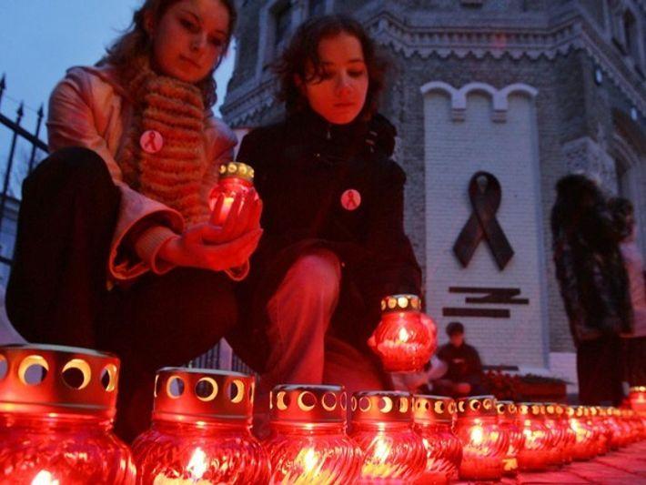 Marcha por el SIDA en Kiev