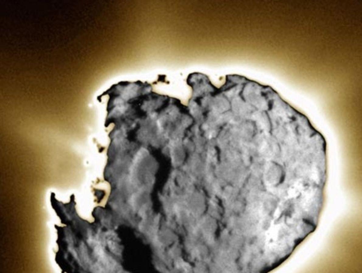 Superficie del cometa Wild 2
