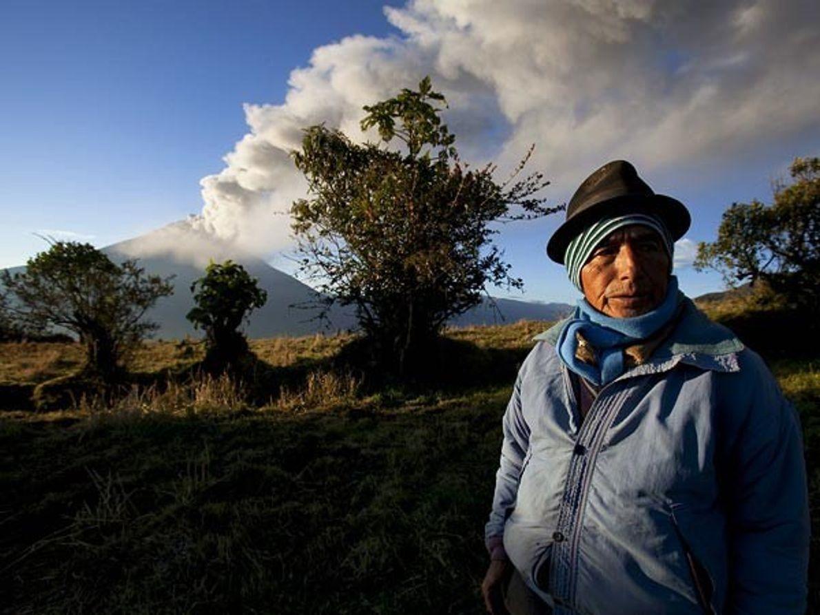 El Tungurahua nunca duerme