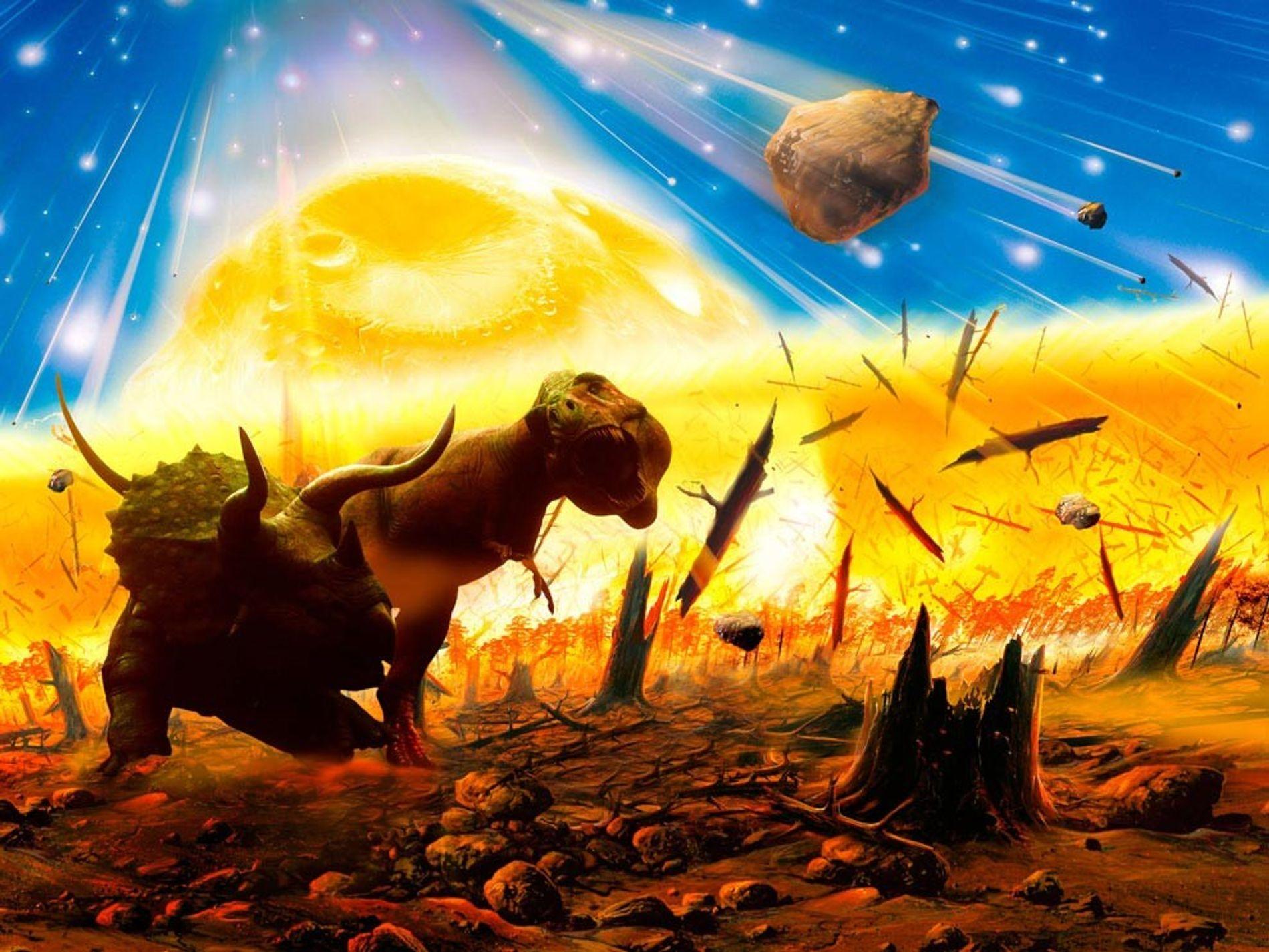 Impacto del asteroide