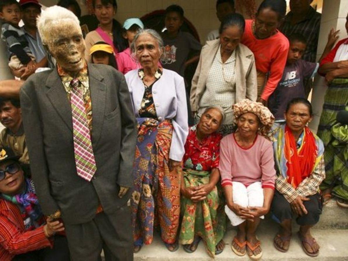 La momia, uno más de la familia