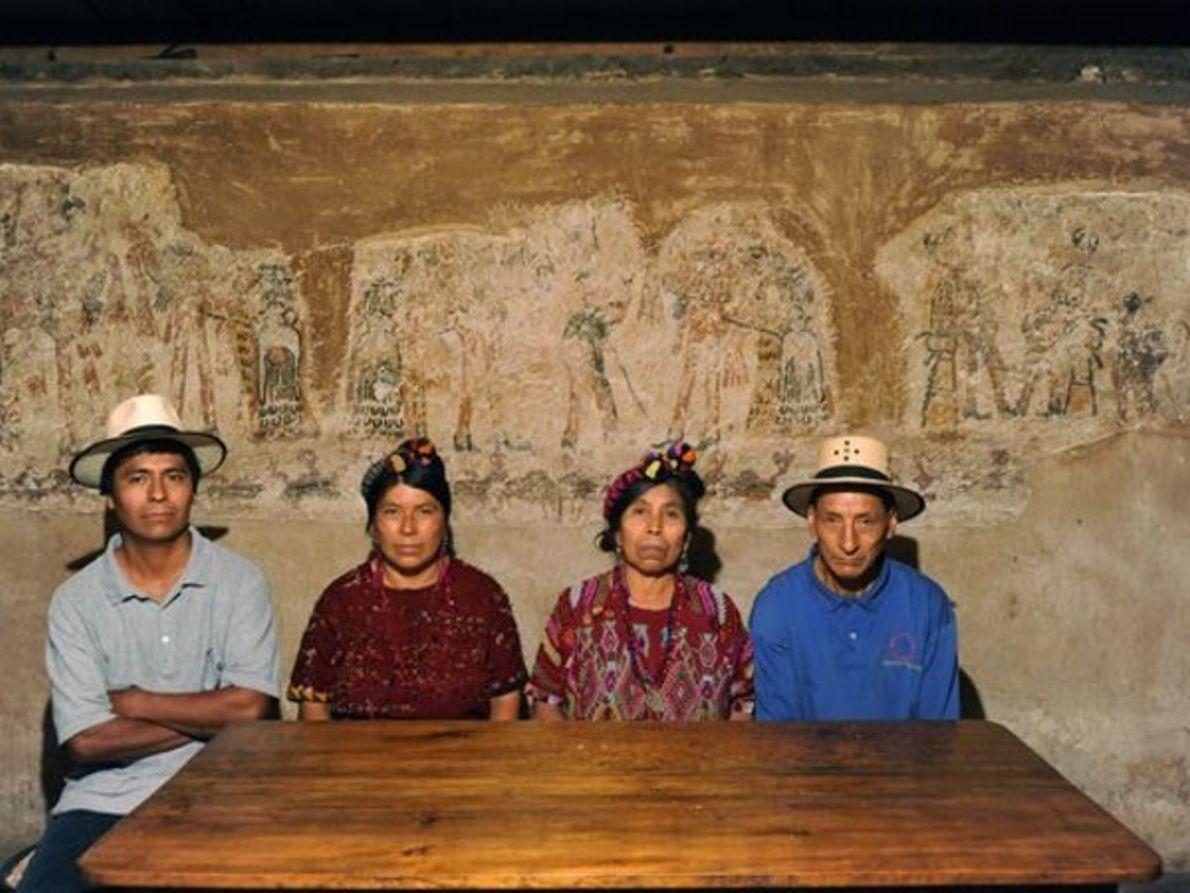 ENCONTRADO UN TESORO MAYA EN UN HOGAR DE GUATEMALA