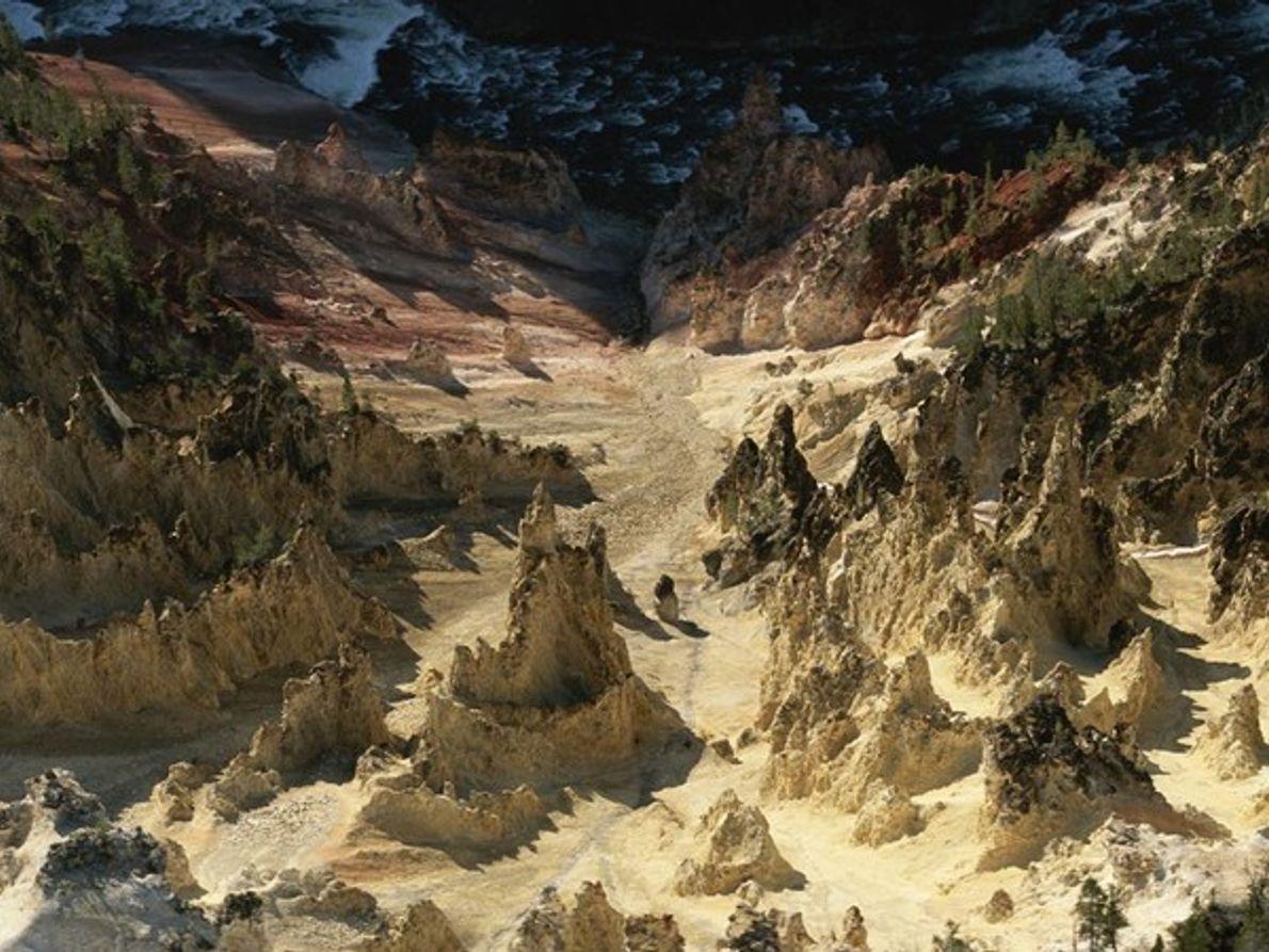 Gran Cañón del Parque Nacional Yellowstone (Estados Unidos)