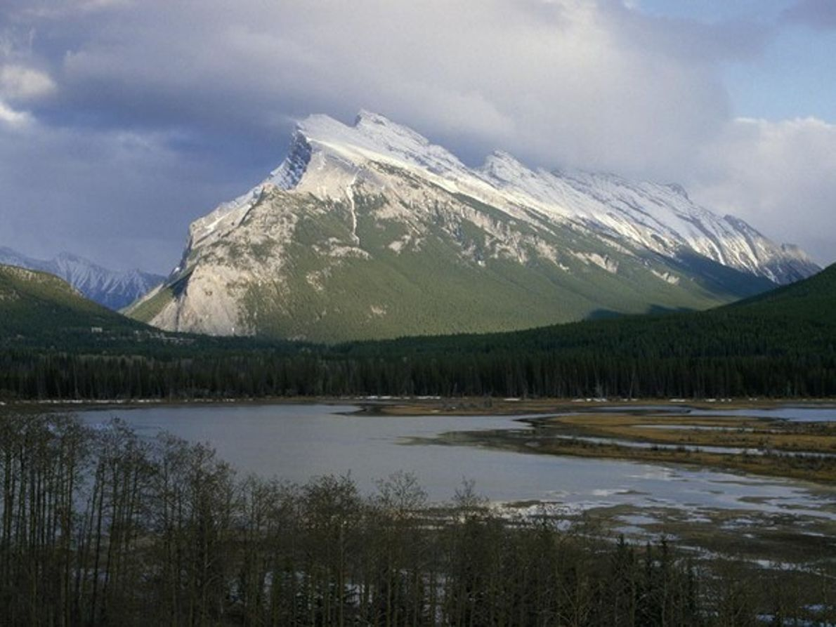 Monte Rundle (Banff, Canadá)