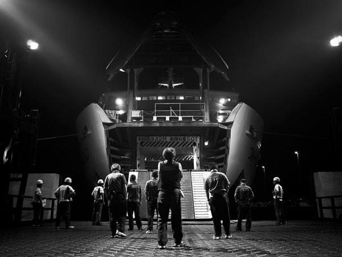 Embarcar en la noche