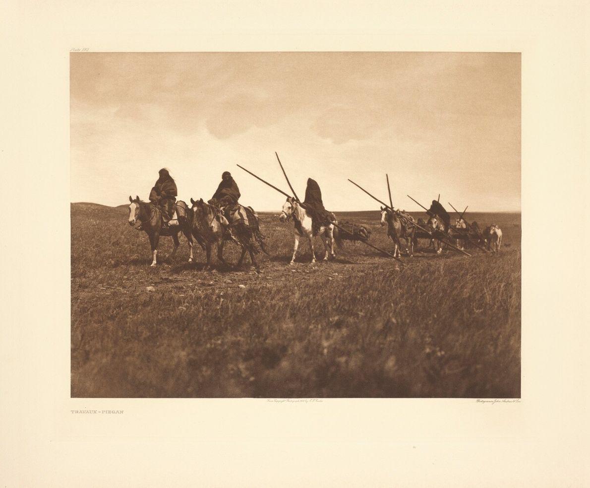 La tribu piegan