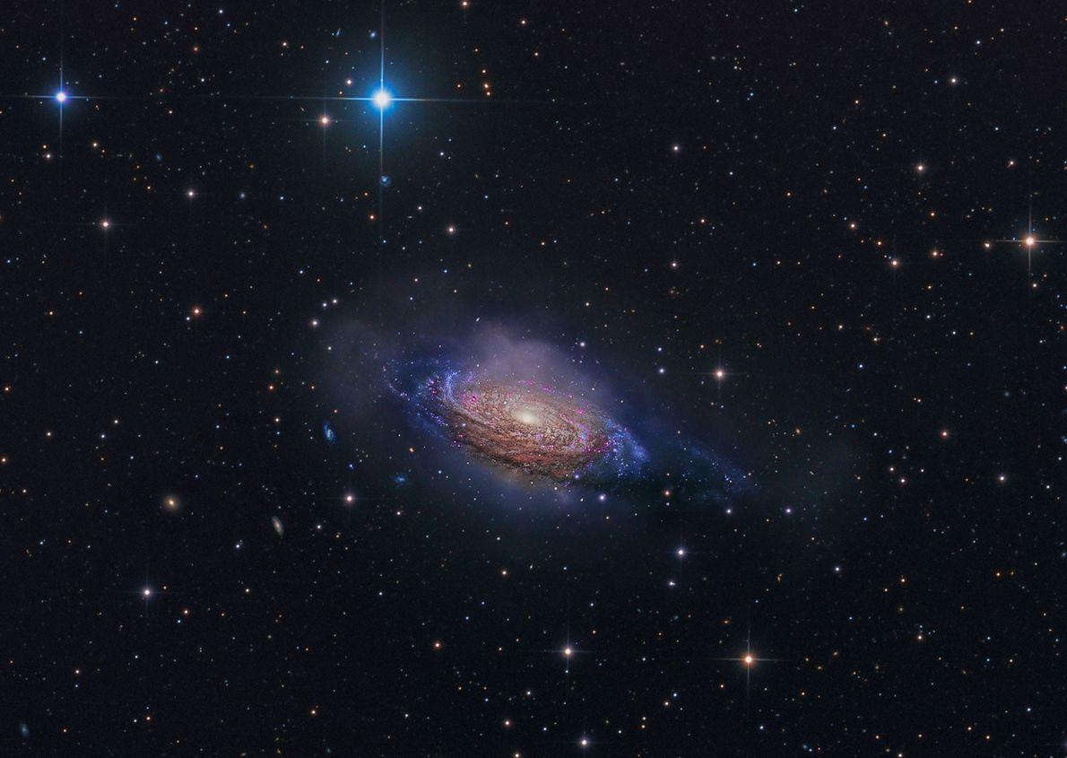 La galaxia espiral NGC 3251