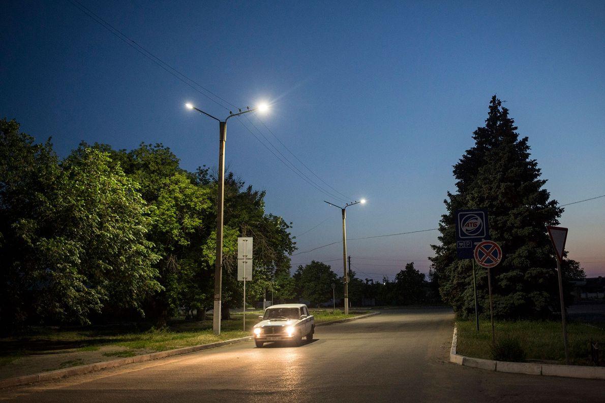 Calle principal de Shchastia