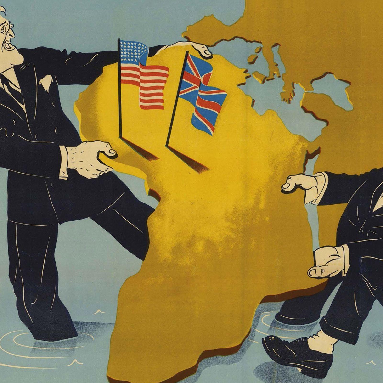 Franklin D. Roosevelt y Winston Churchill
