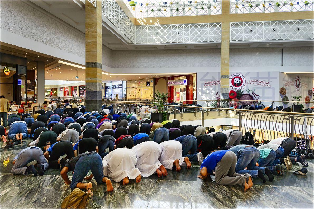 Pausa para rezar