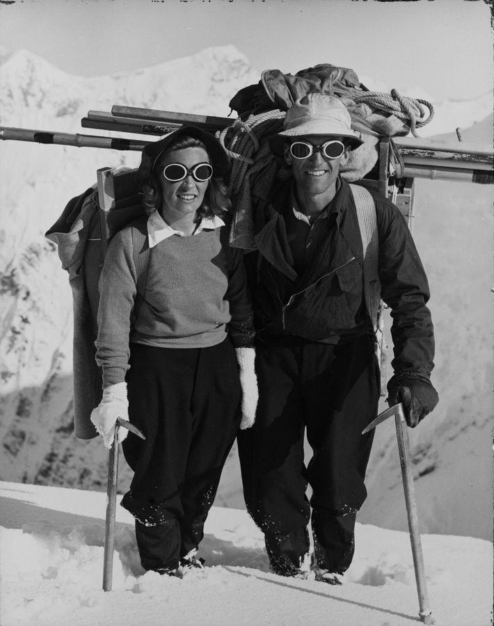 Barbara y Bradford Washburn