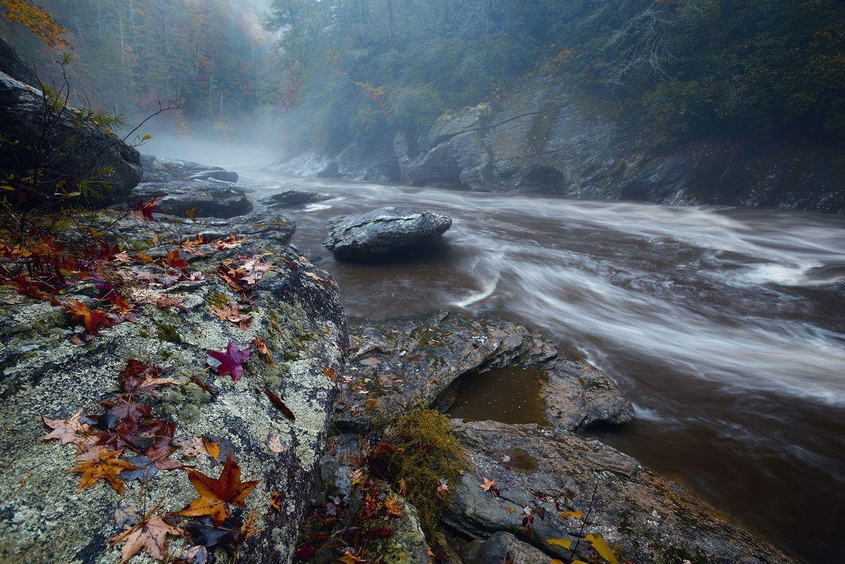 El río Chattooga