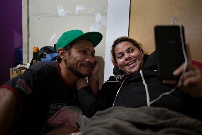 Ángel y Kataleya